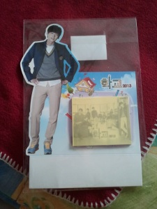 Lee Jong Suk School 2013 post it