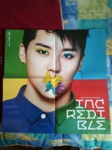 Poster Xia Junsu Incredible