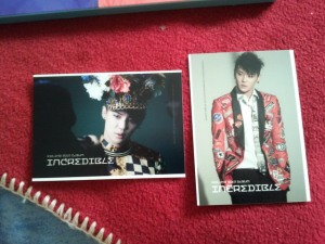 Xia Junsu Incredible tarjetas de regalo