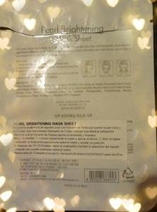Skin79 Pearl Brightening Mask Sheet