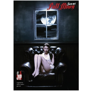 Sun-Mi-Mini-Album-Vol.1-Full-Moon-+Booklet36p-+-Postcard1