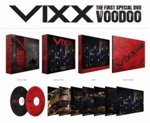 Vixx - The First Special DVD - VOODOO (DVD+Photobook)
